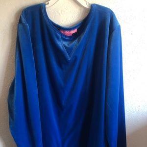 Velvet Blue Sweater